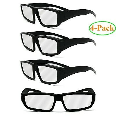 4-Pack EletecPro Solar Eclipse Glasses Safety eclipse Solar Filter Fits All Ages