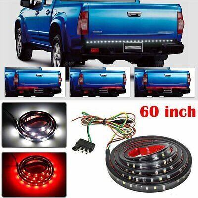 "60"" LED Strip Tailgate Light Bar Signal Brake Reverse For Chevy Dodge Ford Truck"