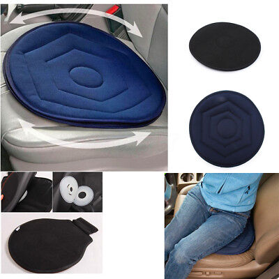 Memory Foam Rotating Swivel Car Chair Seat Mobility Aid Cushion With Office AU
