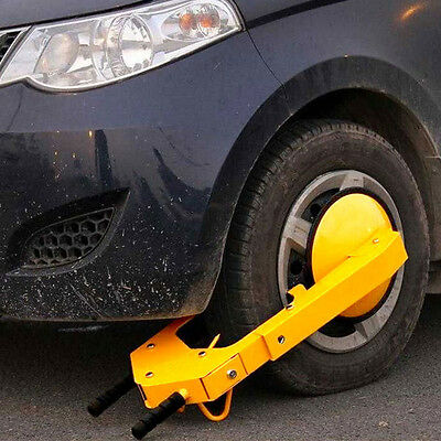 Wheel Lock Clamp Boot Auto Car Truck Tire Claw Parking Anti Theft Towing Trailer