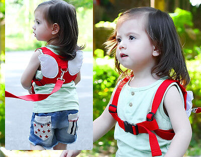 USA Leash Child Wrist Safety Harness NEW Baby Toddler with a of Traction Rope