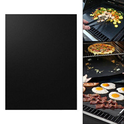 Easy Reusable Non-stick Heat Resistant BBQ Grill Cooking Meat Sheet Mat Pad perf