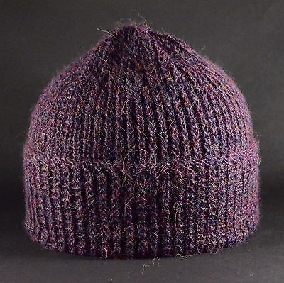 cashmere rival, hand knitted hat pure alpaca beanie...,Pure Hygge,  free postage