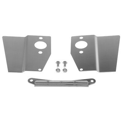 Mini With Hs2 Carburettors Stainless Heat Shield Kit - Mst018