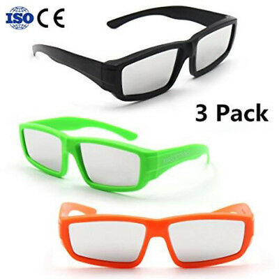 MASCOTKING Solar Eclipse Glasses Safe Shades for Direct Sun Viewing Adult 3-Pack