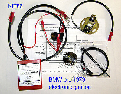 BMW vor 1979 elektronische Zündung Boyer ignition unit Micro Digital KIT86 00086