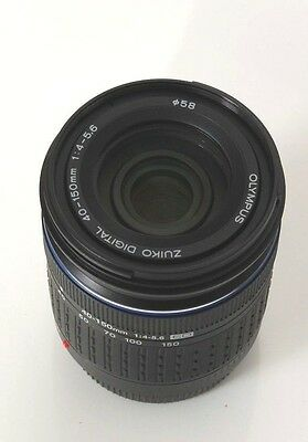 OLYMPUS DIGITAL  ZUIKO 40-150mm f 4-5.6 ED  FOR FOUR THIRDS 4/3