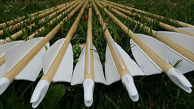 1 Doz 11/32 Various colour Bohning Classic Nocks for Traditional/Longbow Arrows