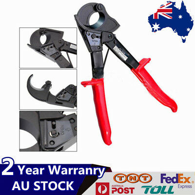 Ratchet Cable Wire Cutter Up To 240mm² Ratcheting Wire Plier Hand Tool Range AU