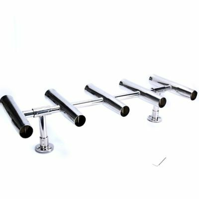 Rocket Launcher Rod Holders 5 Tube Adjustable can be Rotated 360 Deg, -5RHRack