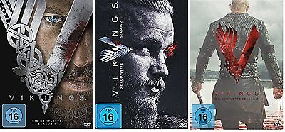Vikings 1-3 Die Komplette Staffel Season 1 2 3 Dvd Set Deutsch