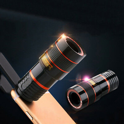 Universal 8X Optical Zoom HD Telescope Camera Lens Clip Mobile Phone Telescope