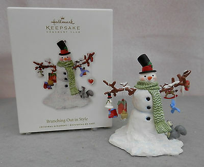 Hallmark Keepsake Ornament, Branching Out in Style - 2010