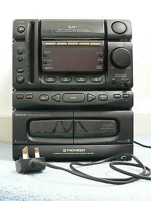 Pioneer Xhm16b Micro Hi Fi System With 30w Power And Cd Fm