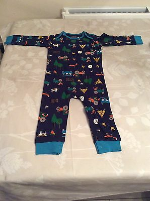 Boys baby joules  Foot Less Baby Grows 12-18 Months Free Uk Postage