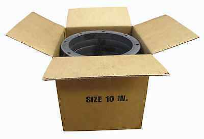 Box Of Ten 10 Inch Round National Standard Punched Carbon Steel Angle Rings