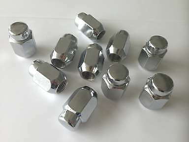 20 Pontiac Rally Mag Rim Chrome Wheel Bulge Acorn Lug Nuts 12 X 1.50mm NOS
