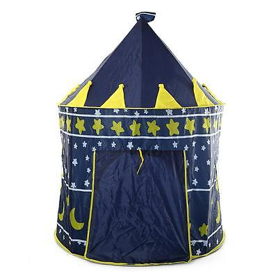 Childrens Castle Tent Portable Foldable Kids Play House Camping Outdoor Travel