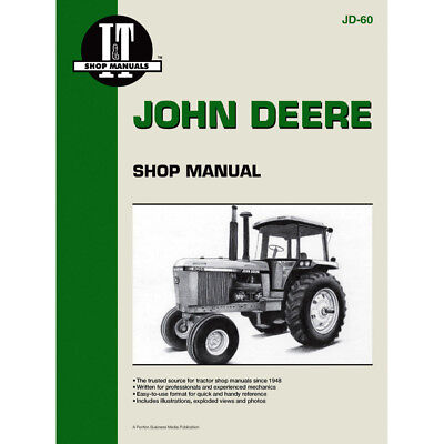 Service Manual For John Deere Tractor 4055 4255 4455 4555 4755 4955
