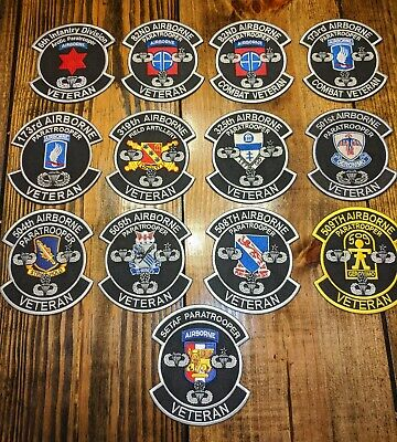Veterans unit patch !! Very high quality patches