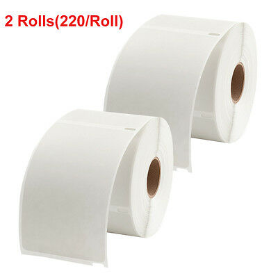 2 Rolls 220/Roll DYMO 4XL Direct Thermal Shipping Labels 4x6 1744907 compatible