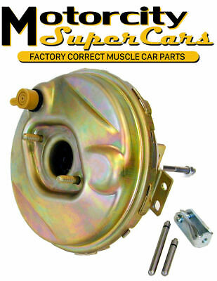 """1964-66 A-body Power Disc Drum Brake Vacuum Booster Delco 9"""" Factory Correct GM"""
