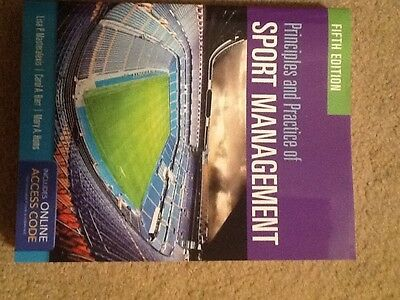 The Principals and Practice of Sports Mangement 5th Edition