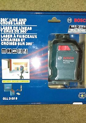 Bosch   65 ft. 360 Degree Horizontal Cross-Line Laser Level GLL 2-20 S