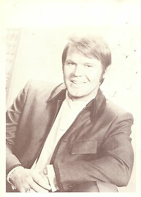 Glen Campbell, Country Music Star in 1969 Magazine Print Photo Clipping