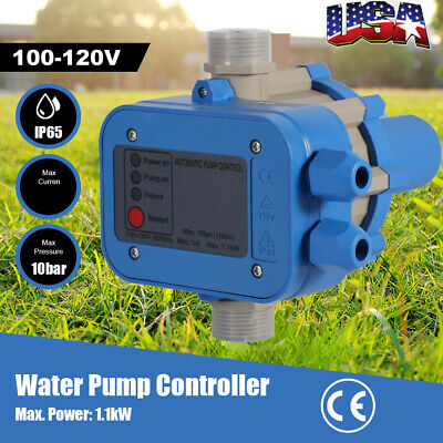 110V Automatic Electronic Switch Control Water Pump Pressure Controller H36 Sale