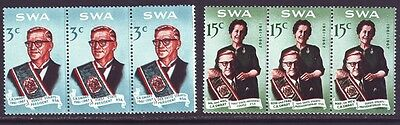 South West Africa 1968 SC 312-313 MNH Set President
