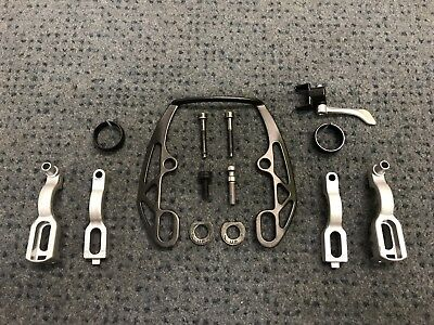 Magura Evo2 HS33 And HS11 Full Brake Clamp Set (With Booster)