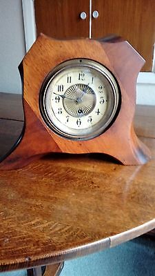 Ww1 Airplane Propeller Clock - Collectable Clock - Rare - Working - Keeps Good T