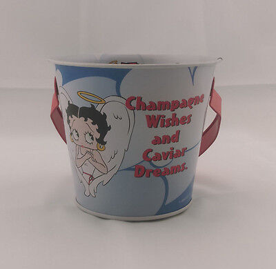 Vandor Betty Boop Angel Tin Bucket Licensed 11978 New