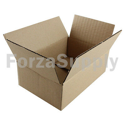 "200 6x4x2 ""EcoSwift"" Brand Cardboard Box Packing Mailing Shipping Corrugated"