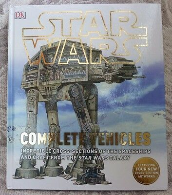 Star Wars Complete Vehicles Collectable New Book By Kerry Dougherty Hardcover