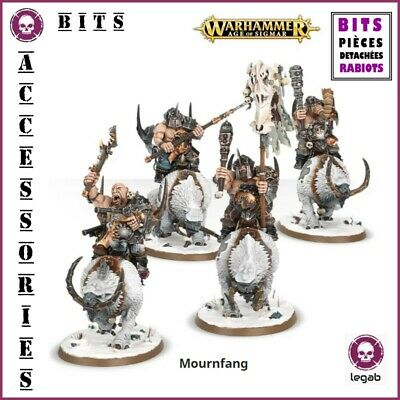 Bits Beastclaw Raiders Mournfang Cavalry Warhammer Aos