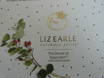 Liz Earl The Secret Of Skincare 3 Piece Set New Boxed