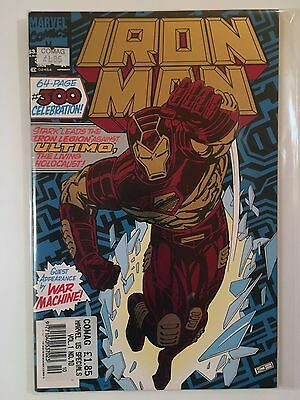 Iron Man #300 Jan 1994 Foil Embossed Cover 64 page Special Near Mint Condition