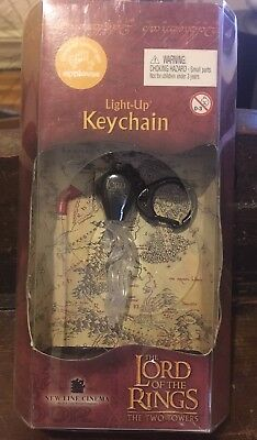 The Lord Of The Rings The Two Towers Light-up Keychains Qty 2