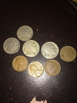 Old U.S. Coin Lot 1862-1950