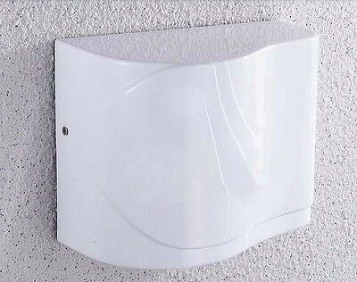 White Wall Mounted Quick Drying Automatic Induction Infrared Hand Dryer Machine
