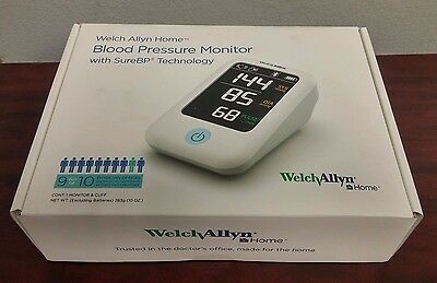 WELCH ALLYN Home 1700 Blood Pressure Monitor H-BP100SBP - NEW - Free Shipping