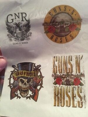 Guns N Roses Gnr Removable Phone/tablet Stickers New (l)
