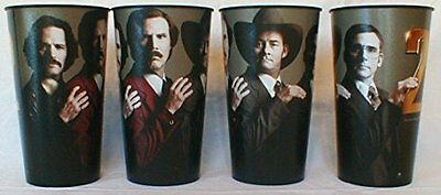 Anchorman 2 Theater Exclusive Four 44 oz Plastic Cups