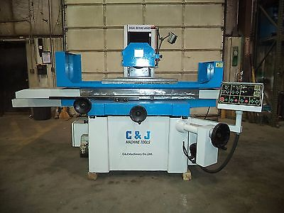 "2008 C & J 12"" X 40"" Automatic Surface Grinder w/Incremental Downfeed & Sparkout"