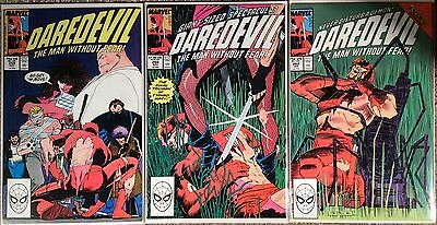 Daredevil (1964 1St Series) #259, 260 & 262. 3 X Issues. All In Vf Condition.