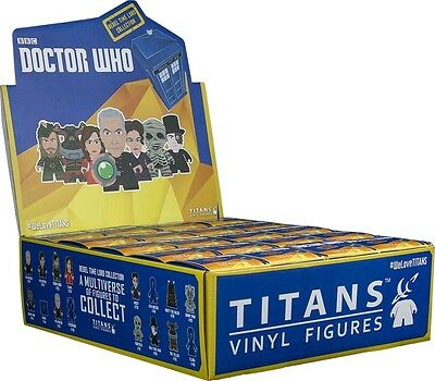 """DOCTOR WHO - Rebel Time Lord 3"""" Blind Box Titans Vinyl Figurines Display (20ct)"""