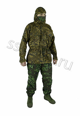 "DOUBLE-SIDED SUIT ""PARTISAN-M"" in SS-AUTUMN CAMO by SSO (SPOSN) ALL SIZES"