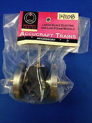 G Scale Accucraft Trains, K28 gear box with wheels, 1:20.3, AP14-108